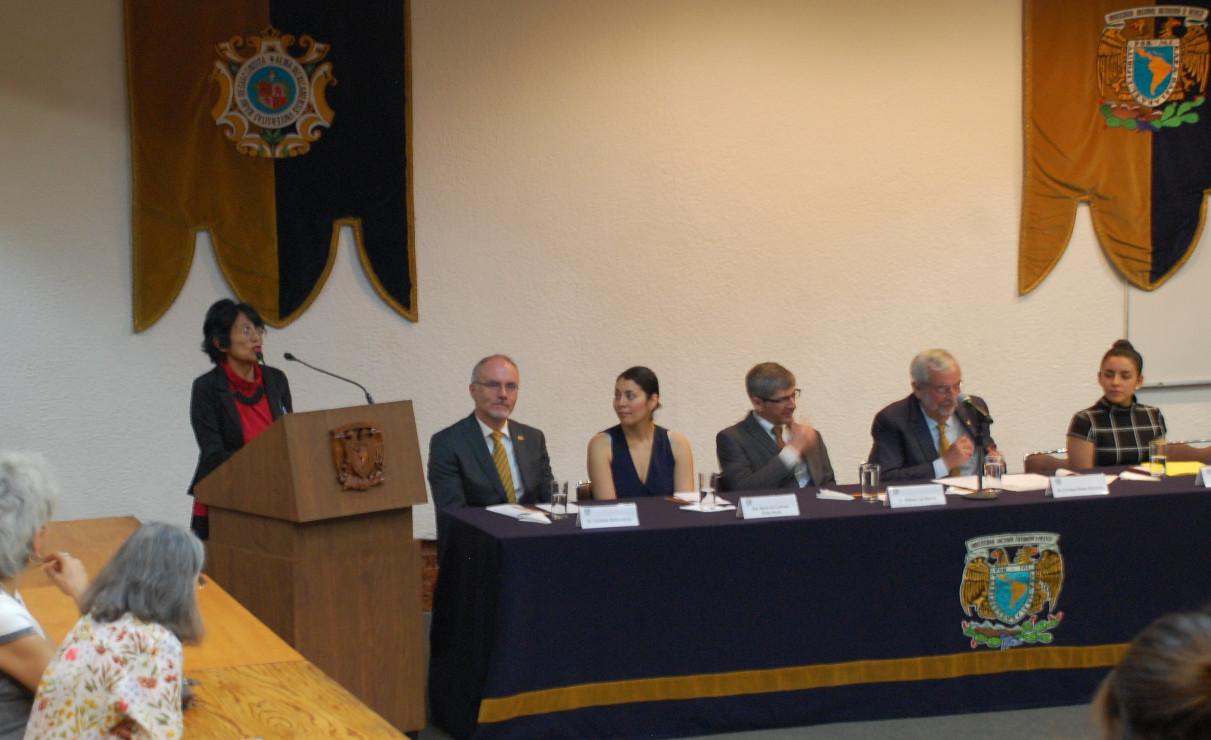 Dra. Esperanza Martínez, coordinadora de la LCG