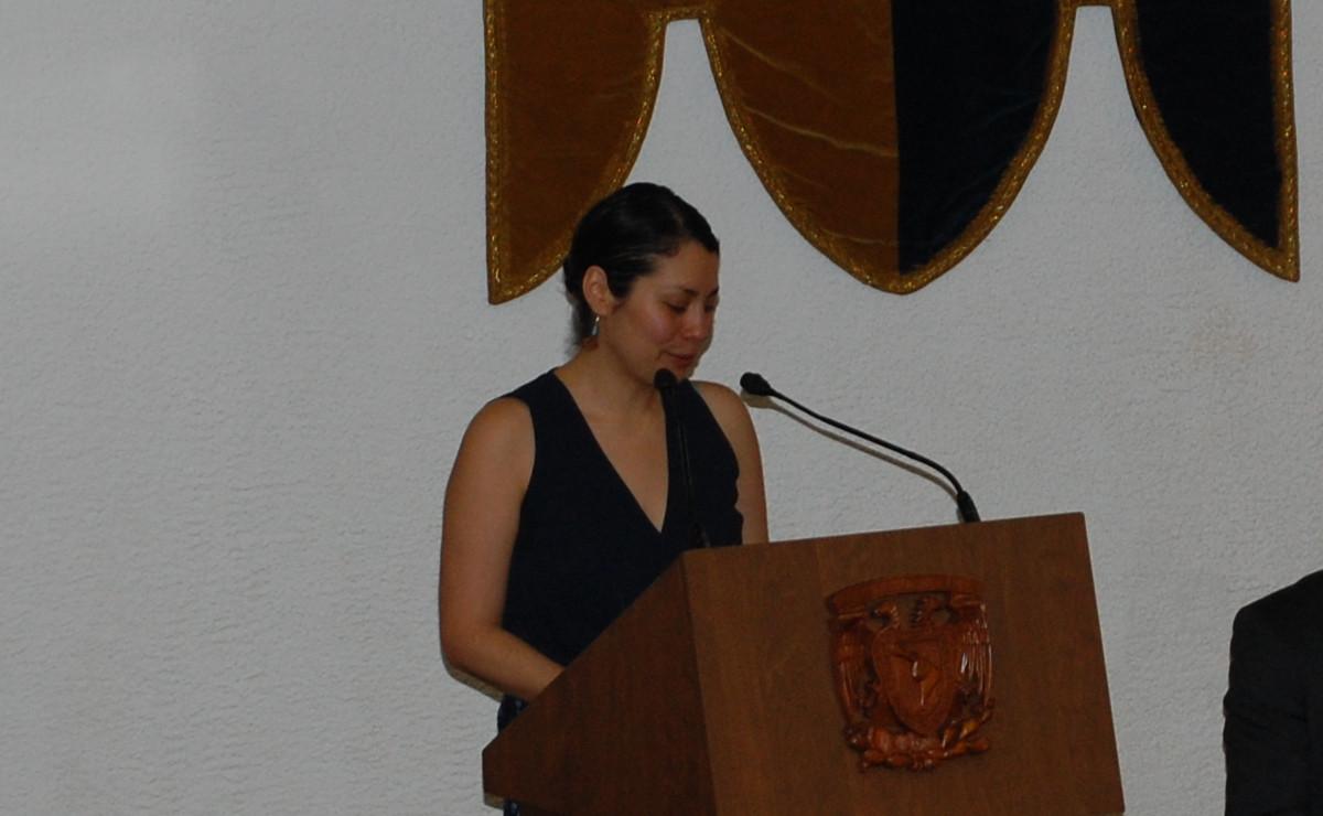Dra. María Avila, egresada